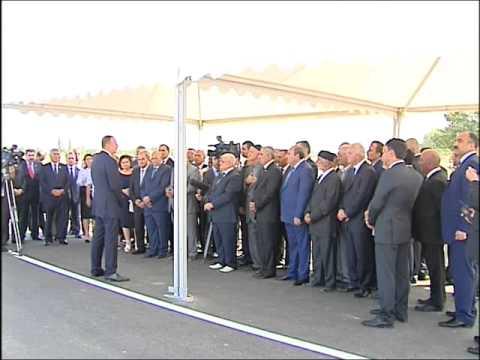 İlham Əliyevin Sabirabad rayon ictimaiyyətinin nümayəndələri ilə görüşü