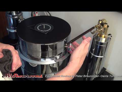 Osiris Tonearm Review, pt 1 Set Up and Operating the Tonearm, KT Audio Imports