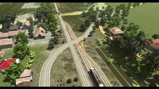 Tutorial Persilangan Kereta Api Di Stasiun #Trainz Simulator Indonesia