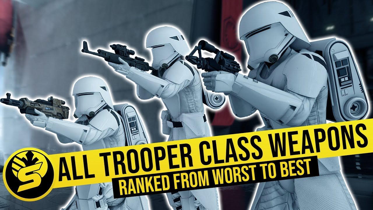 All Weapons Ranked from Worst to Best (2019) | STAR WARS Battlefront 2