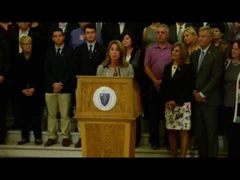 Governor Baker, Lt. Governor Polito celebrate ALS ONE license plate launch