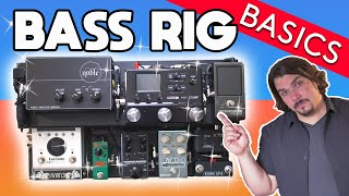 How to Build a Pro-level Bass Pedalboard