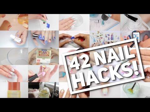 42 NAIL HACKS! | Nail Art Hack Compilation