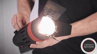 CAME TV Boltzen LED Fresnel Light Review - Hands On Video with 30W & 55W Versions