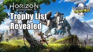 horizon zero dawn   trophies revealed and reviewed