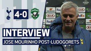 INTERVIEW | JOSE MOURINHO REFLECTS ON LUDOGORETS WIN AND PAYS TRIBUTE TO MARADONA