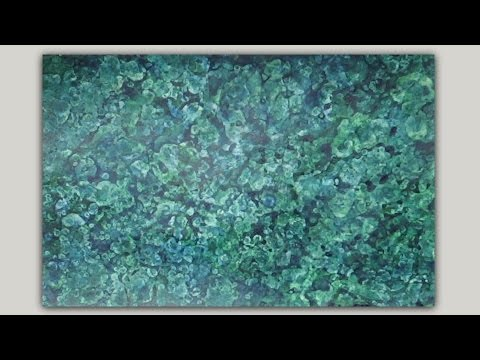 Abstract Painting Acrylic Paint Alcohol Technique Background