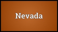 Nevada Meaning