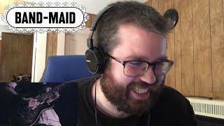 BAND-MAID / Secret My Lips Reaction!