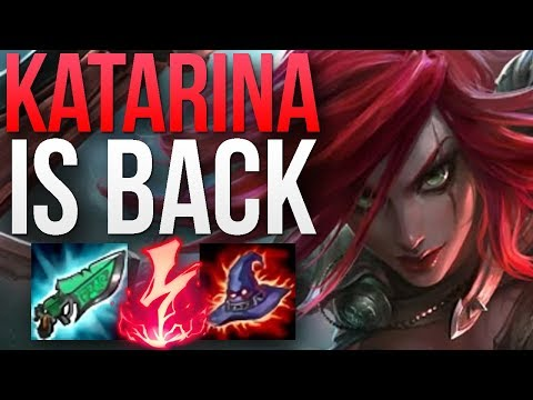 KATARINA PATCH 8.18 IS AMAZING!  CHALLENGER KATARINA MID GAMEPLAY  Patch 8.18 S8