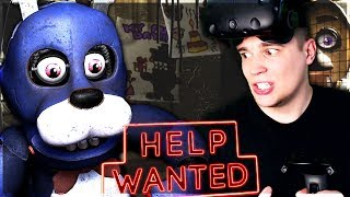 WYDŁUBAŁEM BONNIEMU OKO! - Five Nights at Freddy's VR: Help Wanted #1