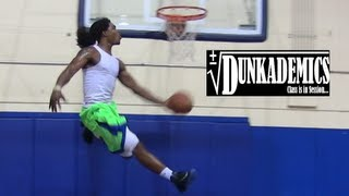 "Dunkademics Kwame Alexander INSANE Dunk Mix : Sick Lobs from Rapper ""The Game"""