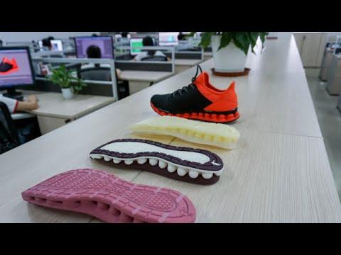 Industrial SLA 3D Printing in the Shoe Industry | Qiaodan