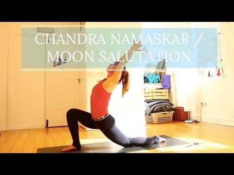 Learn Yoga   Moon Salutation : Chandra Namaskar