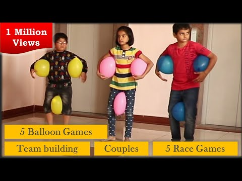 Outside Party Games for children