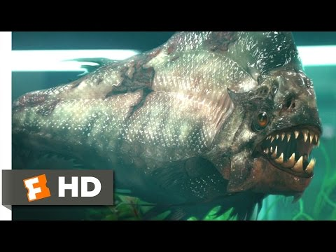 Piranha 3D (5/9) Movie CLIP - Pissed Piranha (2010) HD