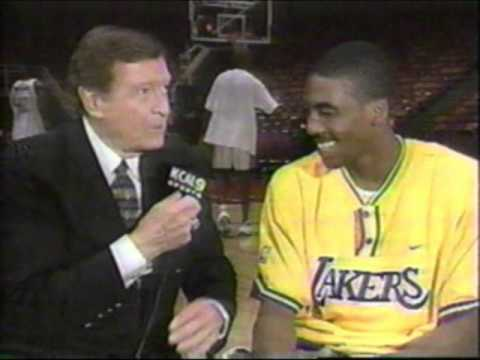 Chick Hearn interview Eddie Jones 1998