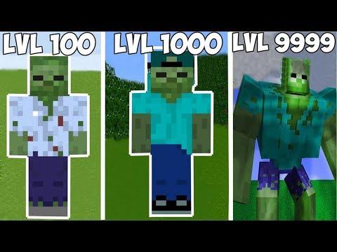 ⚠️ 🔥 MUTANT ZOMBİ SEVİYELERİ! - Minecraft 🔥 ⚠️