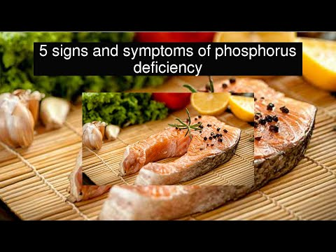 5 signs and symptoms of phosphorus deficiency