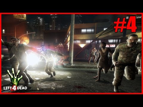 Left 4 Dead - Matando zumbis no hospital
