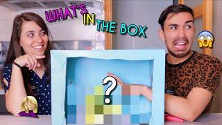WHAT'S IN THE BOX CHALLENGE ?!! Jonathan et amandine