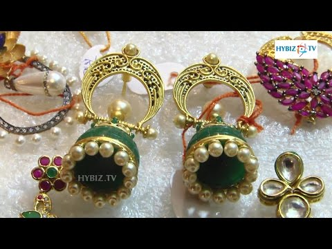 Latest Jewellery Designs With Sarees Matching - Hybiz.tv