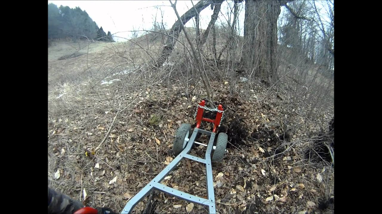 POST & SHRUB PULLER - Application | Wheeled Hand Tool System™ (WHaTS)