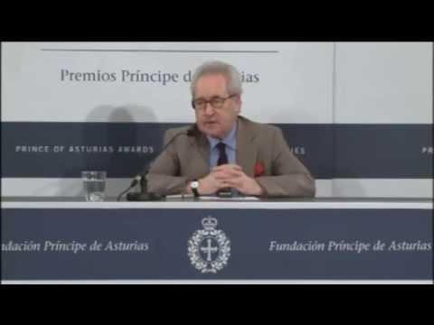 Rueda de prensa de John Banville / Press conference by John Banville