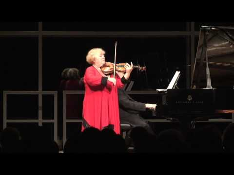 Dora Schwarzberg plays with Pavel Gililov- Wagner ...