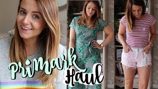 PRIMARK HAUL AND TRY ON JULY 2018 | LUCIE AND THE BUMP