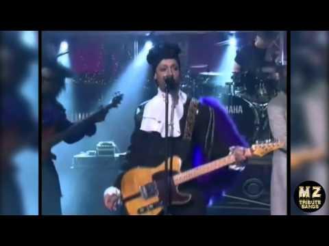 Purple Reign on Letterman