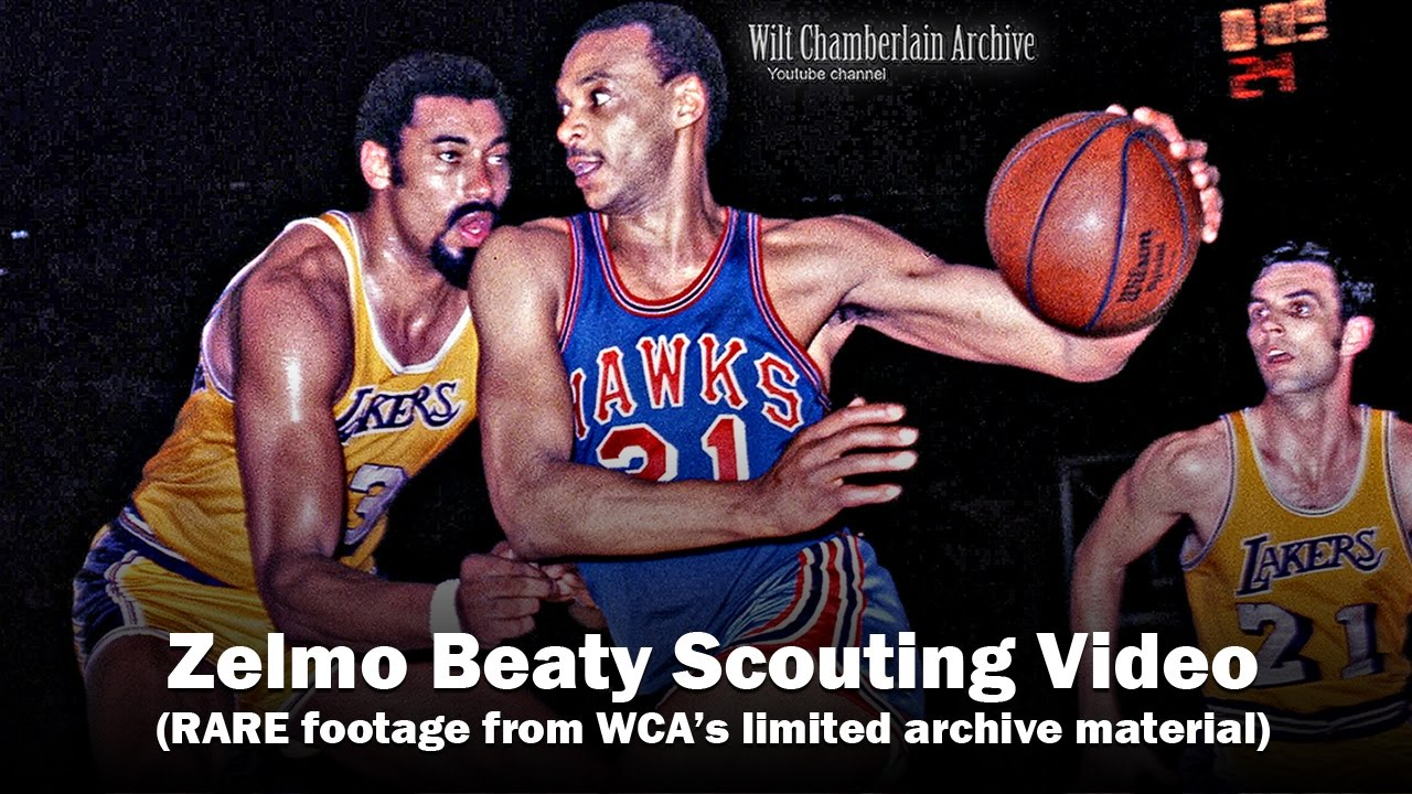 Zelmo Beaty Scouting Video Hall of Fame NBA and ABA Center