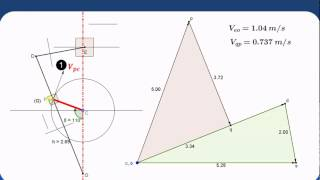 Velocity & acceleration analysis of mechanism -Coriolis component  of acceleration (Part 1)
