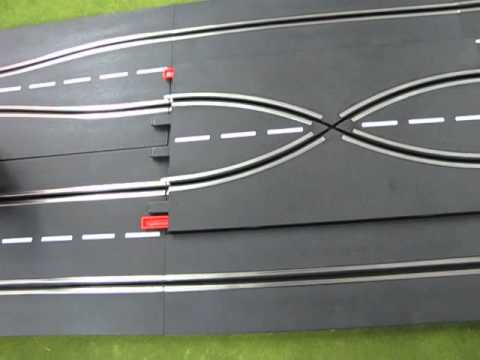 How to make a Carrera 4-Lane+ Digital track.