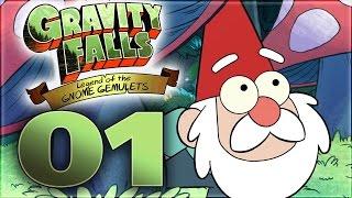 Gravity Falls: Legend Of The Gnome Gemulets Walkthrough Part 1