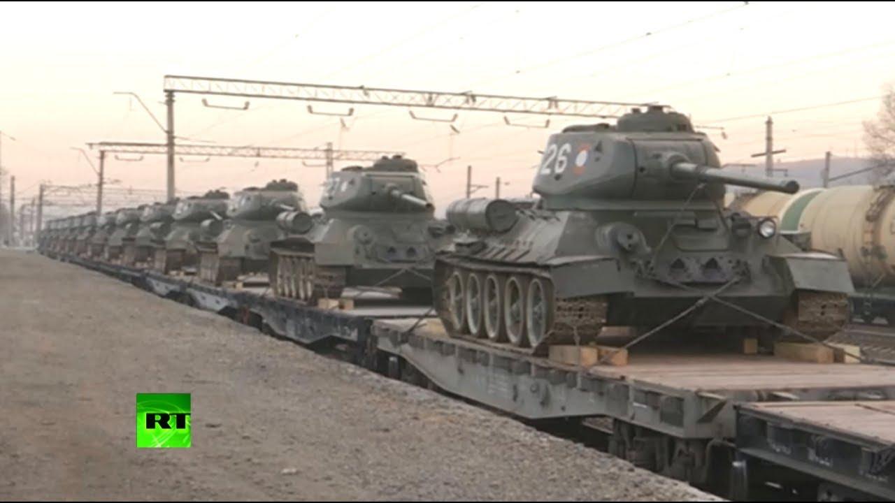 Полностью исправны: в Россию прибыли переданные Лаосом советские танки Т-34
