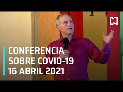 Informe Diario Covid-19 en México - 16 abril 2021