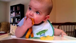 3.8.13 - Sweet Potato and Apple (Baby-Led Weaning)
