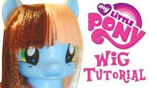 как сделать парик для пони