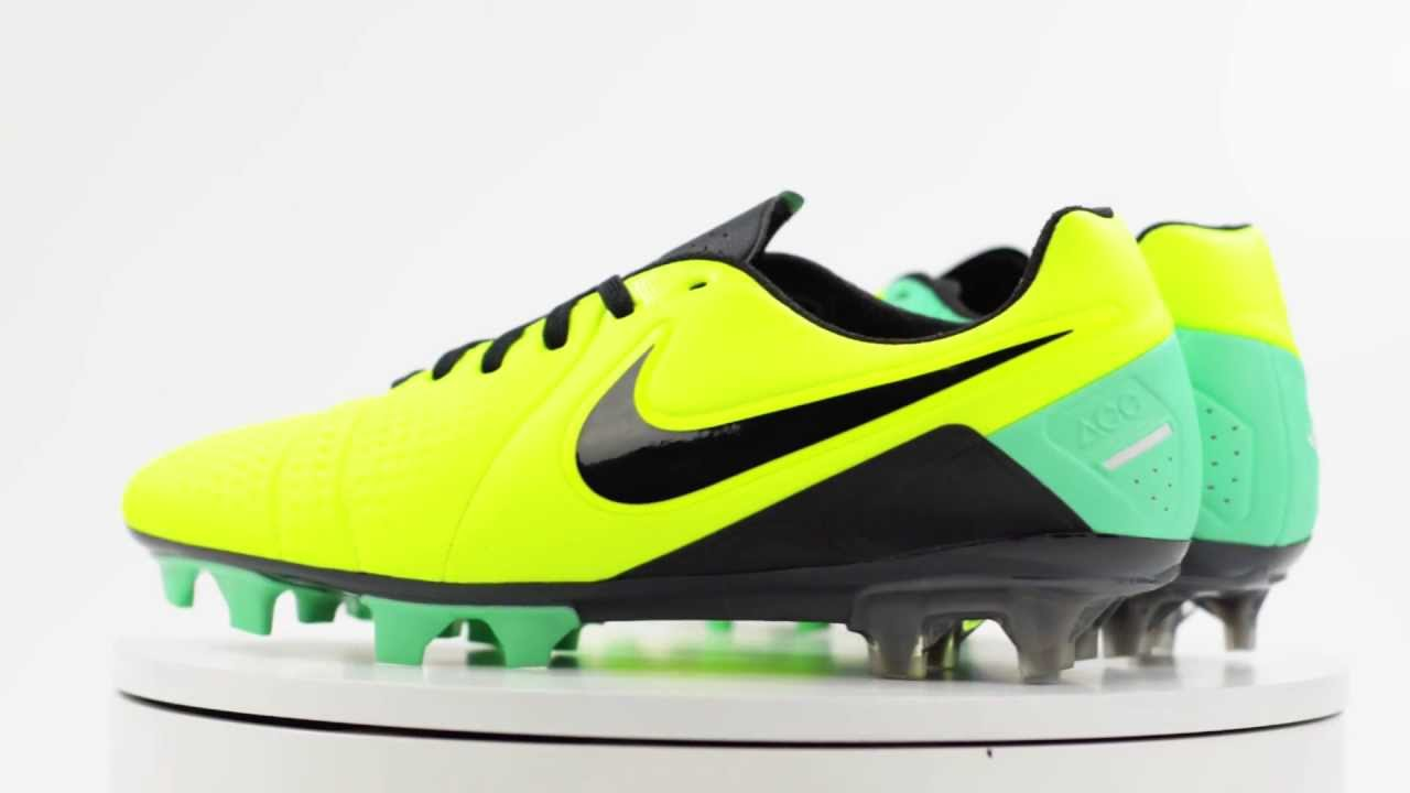 Nike CTR360 Maestri III FG Soccer Cleats - Volt with Green Glow