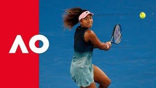 All-court Osaka impresses   Australian Open 2019