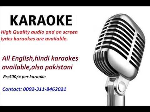 Channa Ve Channa Rahim Shah Karaoke