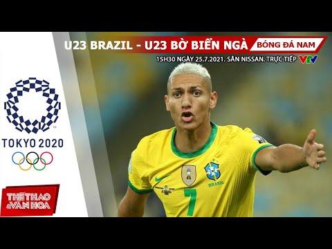 [SOI KÈO NHÀ CÁI] U23 Brazil vs U23 Bờ Biển Ngà. VTV6 VTV5 VTV9 trực tiếp bóng đá nam Olympic 2021