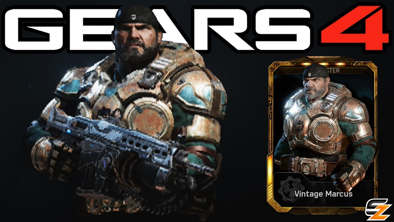 Gears Of War 4 Vintage Marcus Multiplayer Gameplay