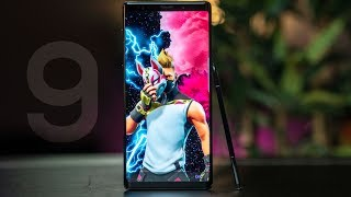 Samsung Galaxy Note 9 - Best Smartphone or Overhyped?