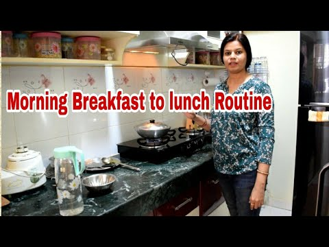 KITCHEN MORNING TO DAY ROUTINE! INDIAN MORNING BREAKFAST TO LUNCH ROUTINE! INDIAN MORNING ROUTINE !