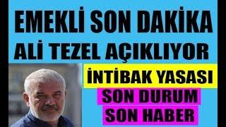 Ali Tezel EMEKLİ TV için açıklıyor! 2000 yılından sonra emekli olanlara intibak müjdesi