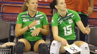 Volleyball Girls Amazing Hungarian Team