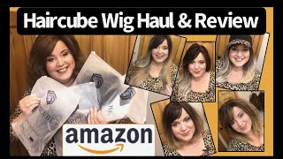 Haircube Wig Haul & Review From Amazon   Less Than $20/Wig   Great Summer Beach & Hat Wigs