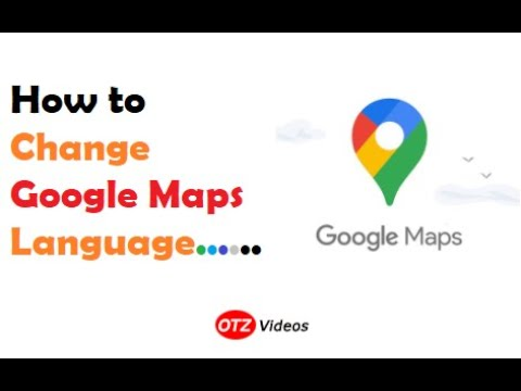 How to change Google Maps Language
